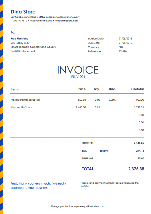 Sample of commercial invoice for shipping Download Examples – What is a Shipping Invoice